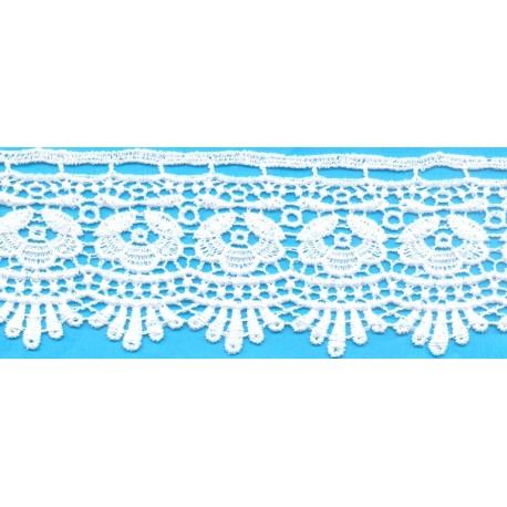 Δαντέλα 117709 Λευκό